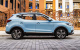 MG ZS EV 2019 UK first drive review - static side