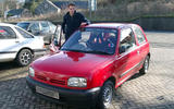 Nissan Micra - static front