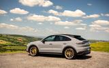 29 Porsche Cayenne Turbo GT 2021 UK FD static rear