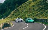 Porsche Cayman - hero front