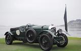 Bentley 4 1/2 Litre - stationary side
