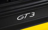 Porsche 911 GT3 badging