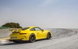 Porsche 911 GT3 rear cornering