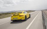 Porsche 911 GT3 rear quarter