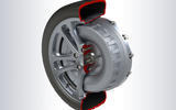 In-wheel electric technology