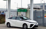 Toyota Mirai parked
