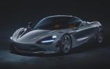2020 McLaren 720S Le Mans edition - front