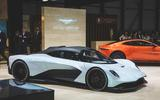Aston Martin Valhalla 2020 - stationary side
