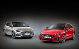 Hyundai i30 and i30 N-Line 2020 - stationary fronts