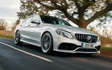 Mercedes-AMG C63 saloon - top ten super saloons