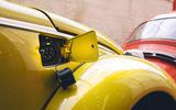 Volkswagen Beetle Bumblebee - charging port