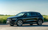 Mercedes-Benz GLA 220d 2020 UK first drive review - hero side