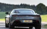 Aston Martin DB11 AMR 2018 review hero rear