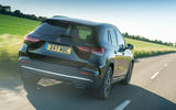 Mercedes-Benz GLA 220d 2020 UK first drive review - hero rear
