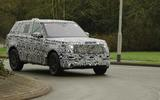 2022 Range Rover Sport prototype side front