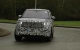 2022 Range Rover Sport prototype front