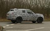 2022 Range Rover Sport prototype side rear