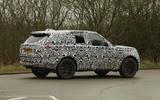 2022 Range Rover Sport prototype rear side