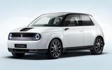 Honda e official production version - front