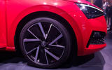 Skoda Scala official reveal stage alloy wheels