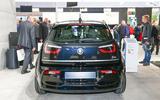 Updated BMW i3 gets greater range