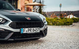 Abarth 124 GT review 2018 front end