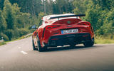AC Schnitzer Toyota Supra 2020 first drive review - hero rear