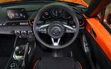 Mazda MX-5 - Best affordable driver's car winner - interior