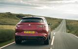 Alfa Romeo Stelvio Quadrifoglio 2020 UK first drive review - hero rear