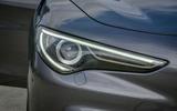 Alfa Romeo Stelvio Speciale first drive review - headlights