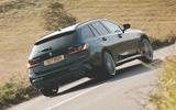Alpina B3 Touring 2020 UK first drive review - hero rear