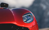Aston Martin DBS Superleggera 2018 first drive review headlights