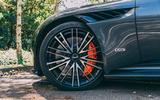Aston Martin DBS Superleggera Volante 2019 UK first drive review - alloy wheels