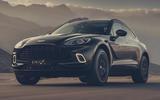 Aston Martin DBX - hero front
