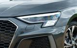 Audi A3 Sportback 2020 UK first drive review - headlights