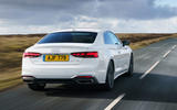 Audi A5 Coupe 2020 UK first drive review - hero rear