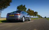 3 Audi A6 TFSIe 2021 UK first drive review hero rear