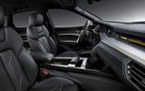 Audi E-tron 2019 official reveal cabin
