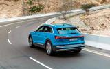 Audi E-tron quattro 2018 first drive review - hero rear