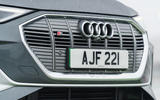 3 Audi E tron S Sportback 2021 UK first drive review nose