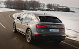 3 Audi Q5 Sportback 2021 first drive review hero rear
