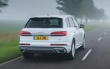 3 Audi Q7 TFSIe 2021 UK FD hero rear