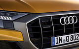 Audi Q8 2018 first drive review front end