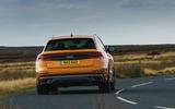 3 Audi Q8 TFSI e 2021 uk FD hero rear