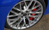 Audi R8 RWS 2018 UK review alloys