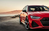 Audi RS6 Avant 2019 first drive review - front lights