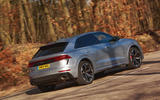 Audi RS Q8 2020 UK first drive review - hero rear