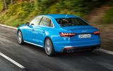 Audi S4 2019 first drive review - hero rear
