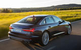 Audi S6 2019 first drive review - hero rear