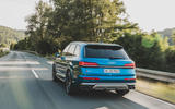 Audi SQ7 2020 first drive review - hero rear